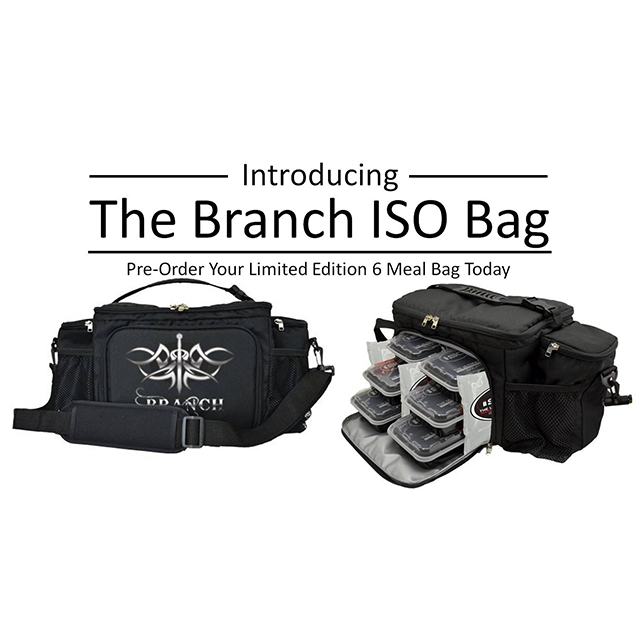 Branch Warren Limited Edition Iso Bag 6 Meals