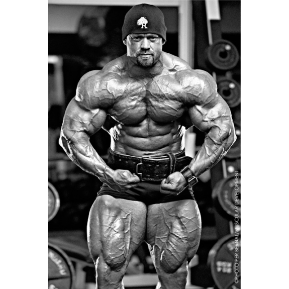 Most Muscular Branch Warren Pic