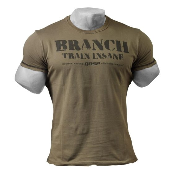 No Compromises - GASP T-Shirts Wash Green