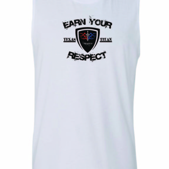 Sleeveless shirt mock-up